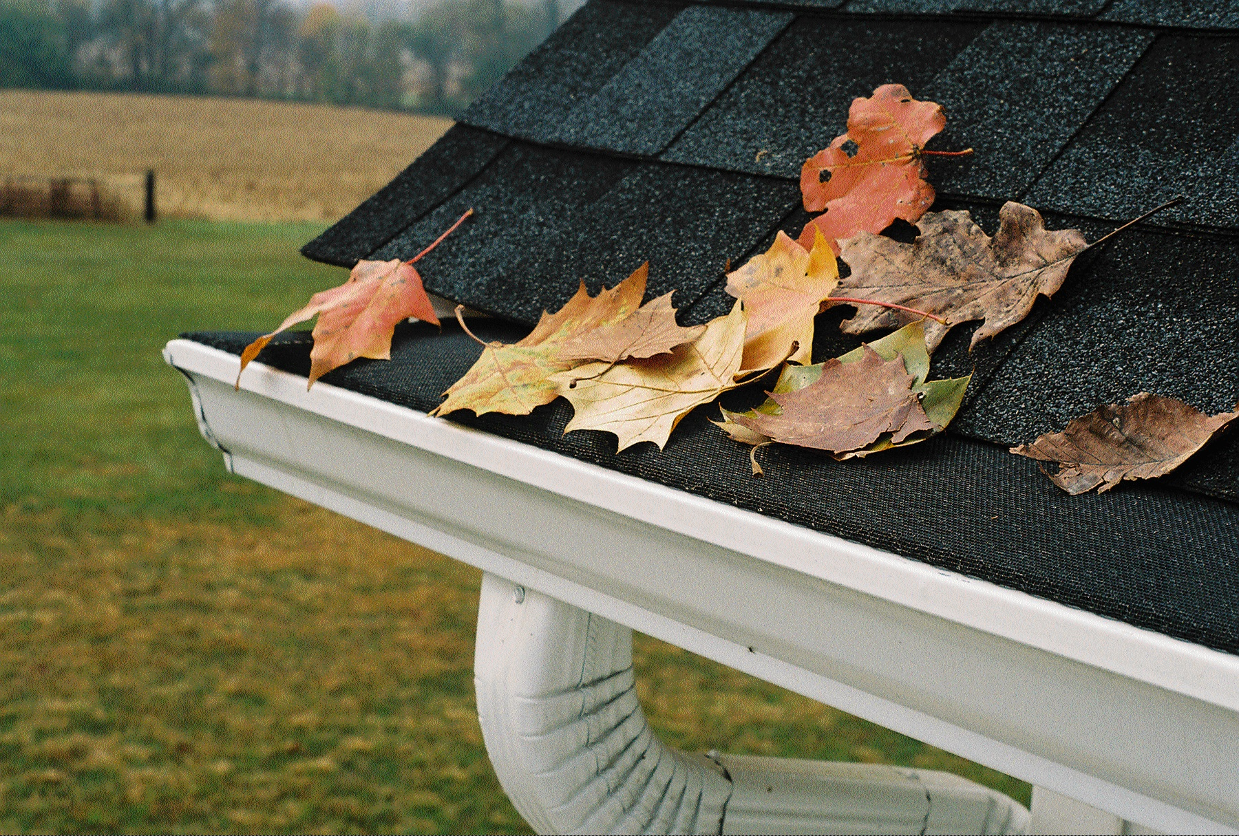 Aluminum Gutters With Leaf Protection Bhd Rain Gutters